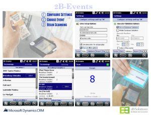 2B-Events 365 App Screens