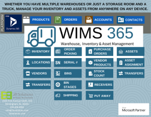 WIMS365 Chart